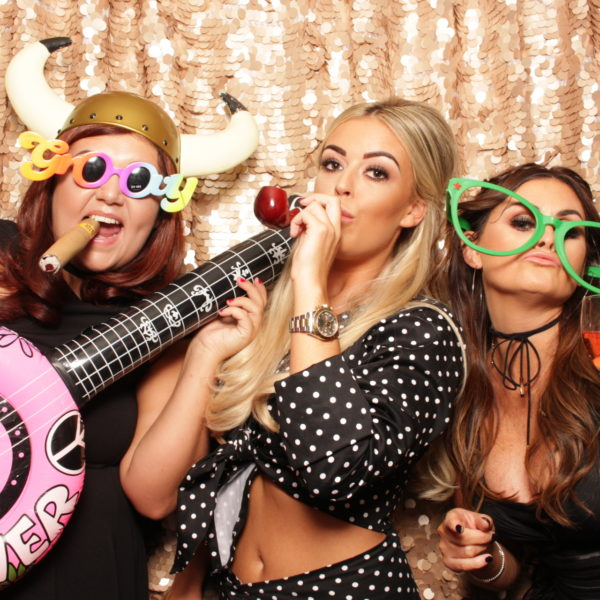 Lots of fun in Liverpool with the open air Photobooth.